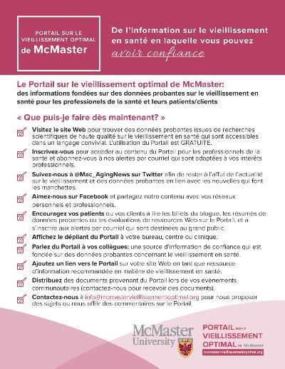 OAP Checklist Resource (FR)